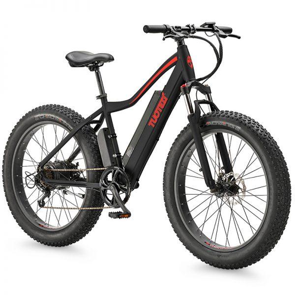 CNQR Black Ebike