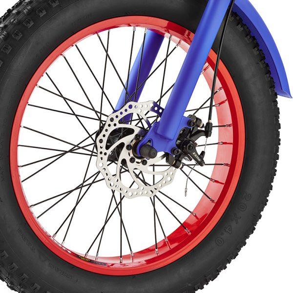 cvrt blue model disc brakes