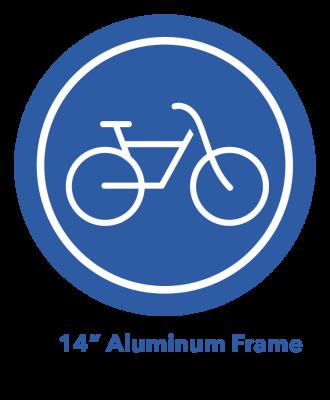 "14"" Aluminum Frame eBike Icon"