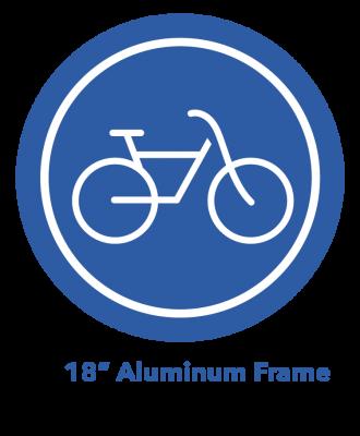 "18"" Aluminum Frame eBike Icon"