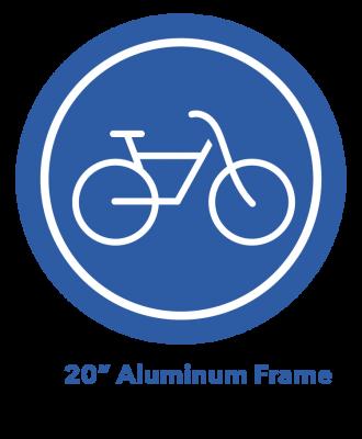 "20"" Aluminum Frame eBike Icon"