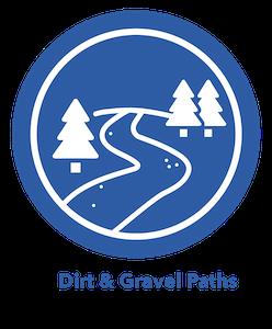 Dirt & Gravel Paths eBike Icon