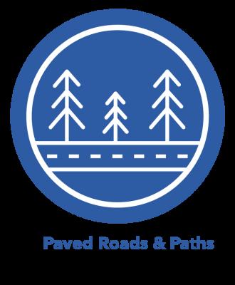 Paved Roads & Paths eBike Icon