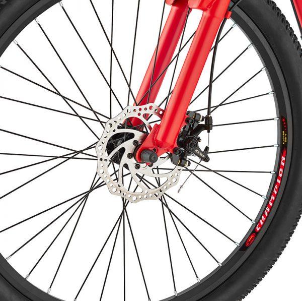 xplr red disc brakes