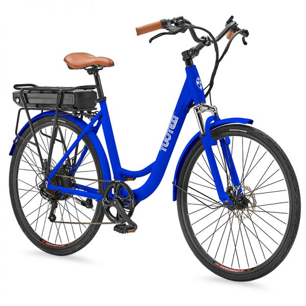 CRZR Blue Ebike