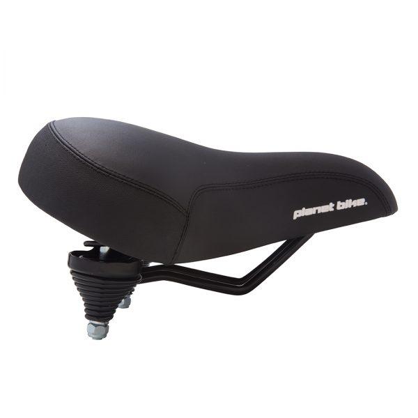 Planet Bike Comfort Web Spring Bike Seat Womens Black Side View