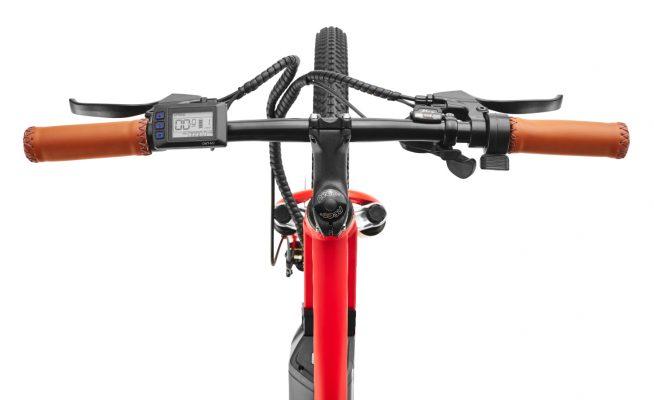 3 different mode XPLR red power bike