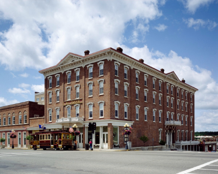 ebike friendly St. James Hotel in Red Wing