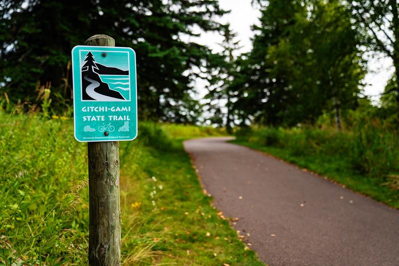 best bike trail in northern Minnesota Gitchi Gami state trail FI