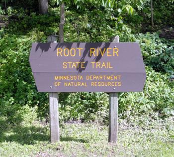 best bike trails in southern Minnesota Root River