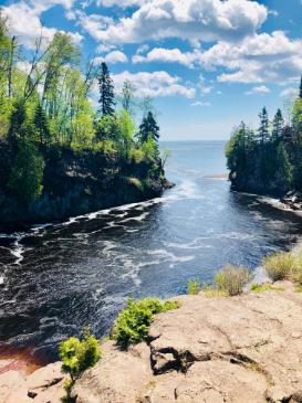 best bike trail in northern Minnesota Schroeder to Lutsen