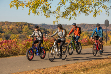 4 Different ebikes models TUOTEG