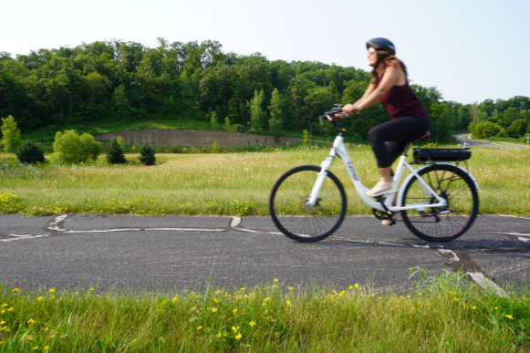 Ebiking with pedal assist and throttle