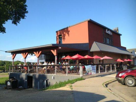 Memorial Park Bike Trail Kellys tap house bar
